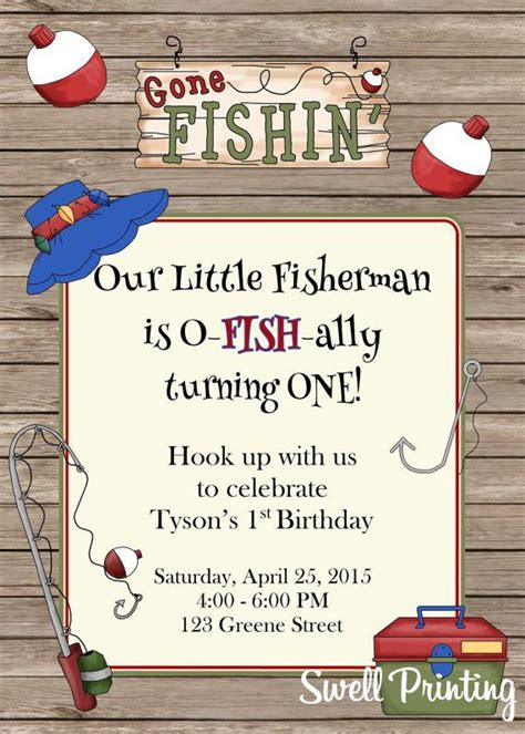 fishing birthday card template 252 best fishing birthday ideas recipes and crafts