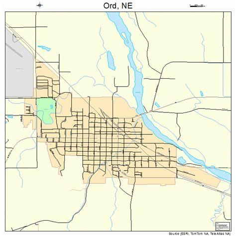 ord map ord nebraska map 3137280