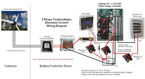 3 phase ups battery connection diagram three phase turbine hookup