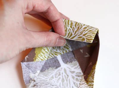 Fabric Origami Box - fabric origami box tutorial how about orange