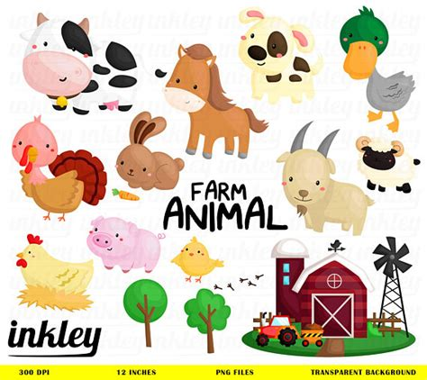 Farm Animals Clipart