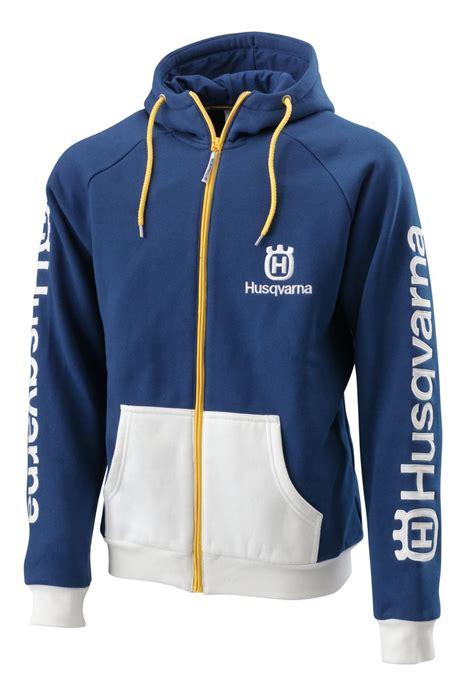 Hoodie Jumper Husqvarna Racing aomc mx 2015 husqvarna team zip front hoodie