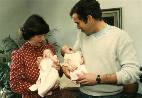 george w bush birth george w bush and laura bush holding their twin
