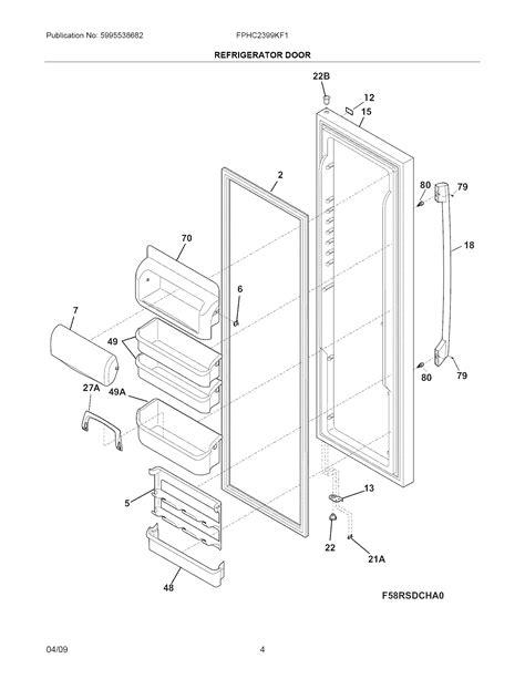 frigidaire gallery refrigerator parts diagram refrigerators parts frigidaire gallery refrigerator