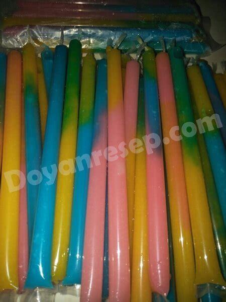 Plastik Es Pensil resep es pensil pelangi es rainbow