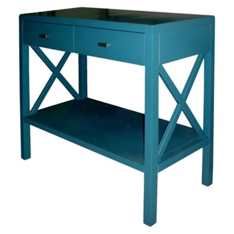teal sofa table teal x console table everything turquoise