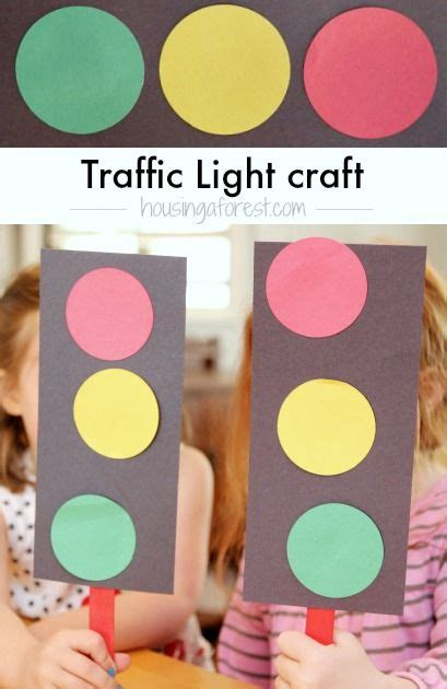 traffic light craft for crafts the o jays and transportation on