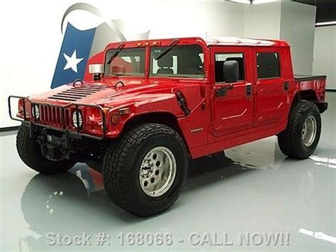 sell used 1995 hummer h1 hardtop 4x4 6 5l diesel 6 pass winch 41k texas direct auto in stafford