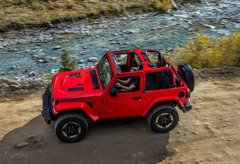 2018 jeep wrangler rubicon 2018 jeep wrangler officially unveiled 2 0t 3 0