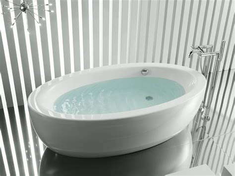 oval bathtubs freestanding oval bathtub georgia by roca