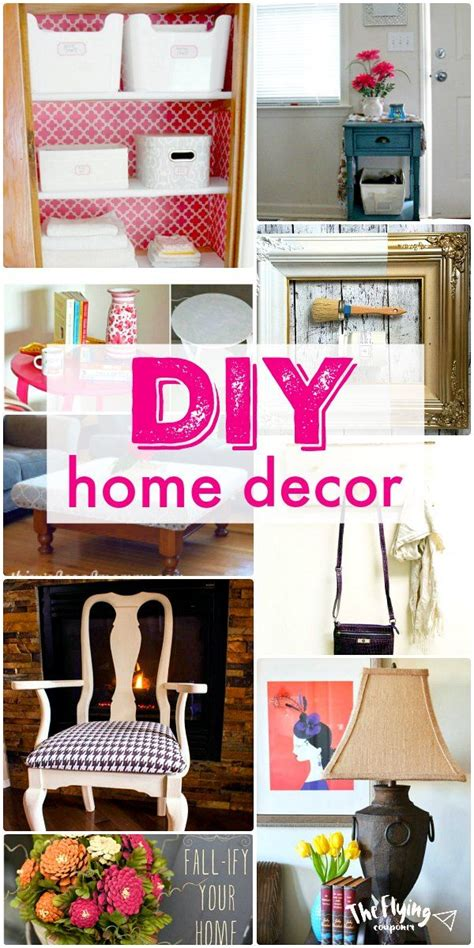 diy projects for home decor pinterest 19 diy home decor projects easy upcycle and repurpose