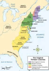 colonies map the middle colonies