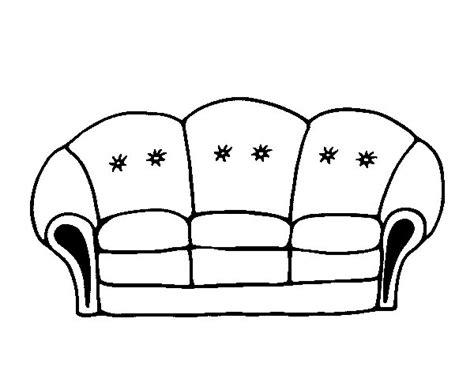 disegno divano disegno di divano da colorare acolore