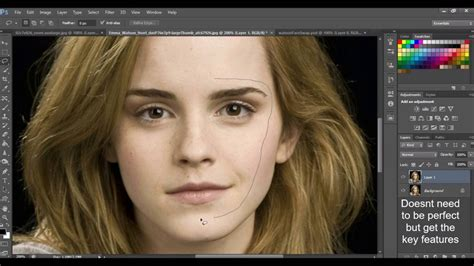 makeup psd templates for photoshop how to photoshop a face onto another body emma watson and