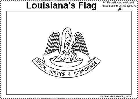 louisiana map enchanted learning louisiana flag printout enchantedlearning