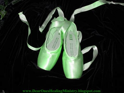green ballet slippers dear ones healing ministry free william kaluta photos of