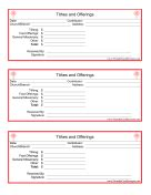 Thrift Store Donation Receipt Template by Donation Receipts