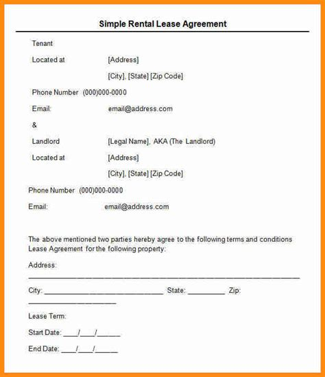 simple land lease agreement template simple lease agreements sle florida commercial lease