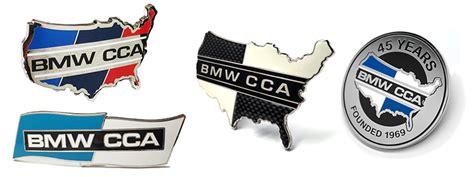 bmw cca sticker merchandise spotlight bmw car club of america