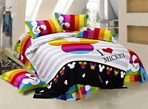 Toddler Bedding Set Measurements 100 Cotton Bedding Set King Size Mickey Mouse