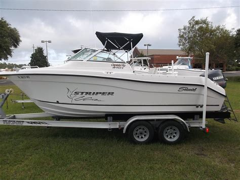 new striper boats for sale 2004 seaswirl striper 2101dc power new and used boats for