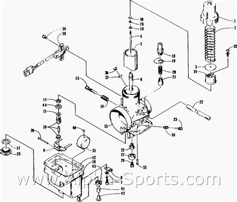 Arctic Cat 400 Carburetor Diagram