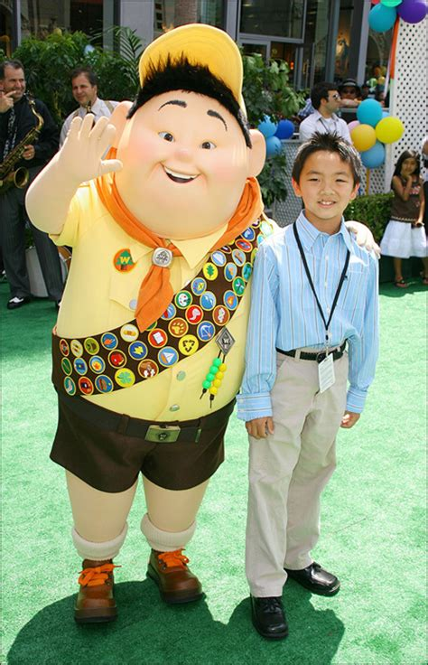 film up boy pixar s up stars an asian american boy scout mochi