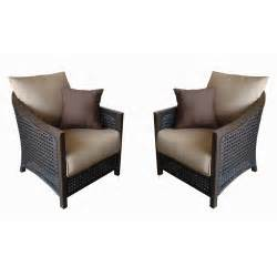 Lowes Com Patio Furniture by Lowes Allen Roth Cranston All Weather Wicker Patio Chairs