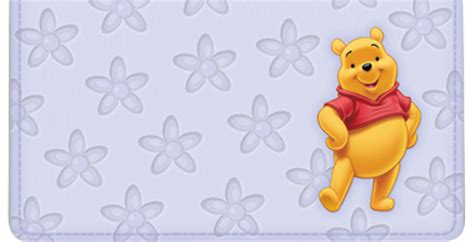 Pooh And Cover winnie the pooh checks checkbook covers address labels