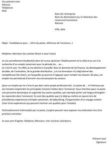 Exemple De Lettre De Motivation Pour Un Emploi Marketing Lettre De Motivation Pour Un Emploi Saisonnier Un Exemple Gratuit Capital Fr