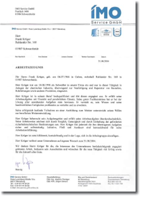 Bewerbung Fsj Zeugnis Sheq Consulting Frank Kr 252 Ger