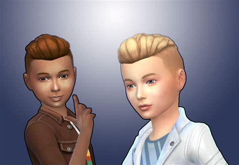 sims 4 child cc sims 4 hairs mystufforigin undercut hair