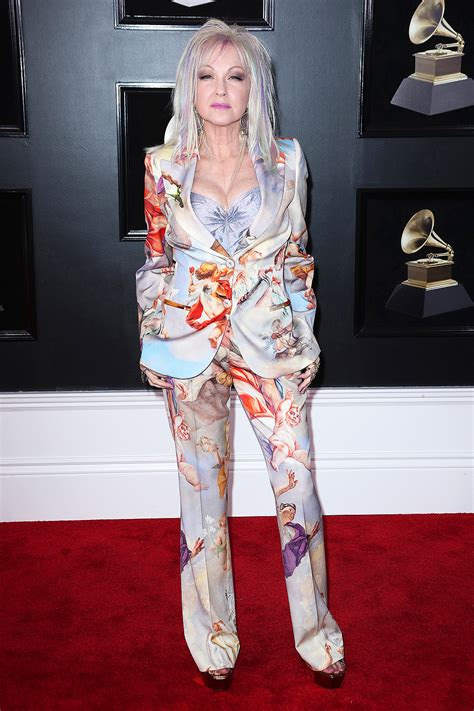 Grammy Awards Cyndi Lauper by 2018 Grammys Fashion The Best Dressed On The