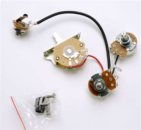 telecaster humbucker complete wiring harness pre assembled
