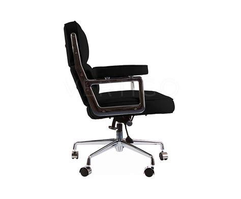 Charles Eames Lobby Chair Design Ideas Lobby Leather Office Chair On Castors Inspired By Designs Of Charles Eames Vertigo