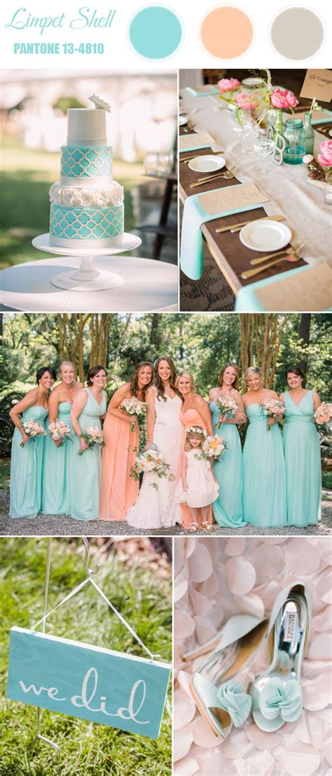 pantone 10 spring wedding colors 2016 tulle