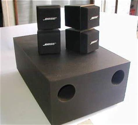 Speaker Bose Am5 bose acoustimass am5 speaker system singapore region singapore free classifieds muamat