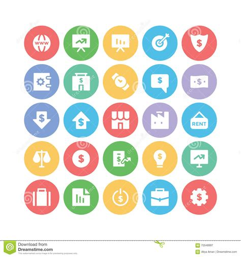 design graphics pack business vector icons 3 stock illustration image 70548997