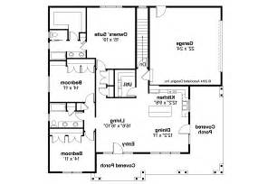 Prairie Style Floor Plans by Prairie Style House Plans Sahalie 30 768 Associated