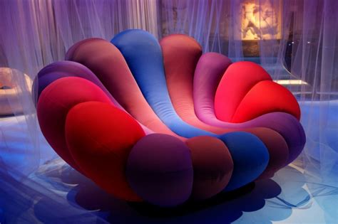 colorful recliners colorful and relaxing anemone chair by giancarlo zema