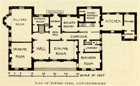 historic floor plans historic mansions floor plans