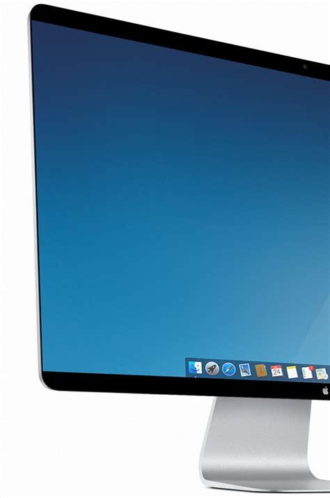 thunderbolt display apple 4k thunderbolt display with new slim bezel design
