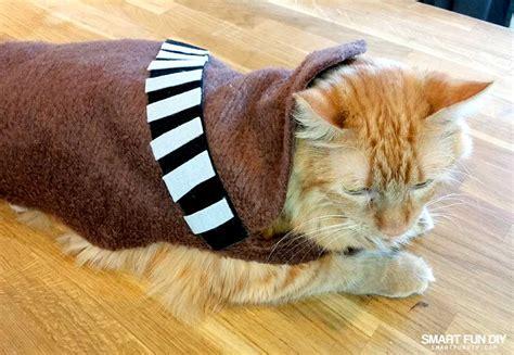 diy chewbacca cat costume