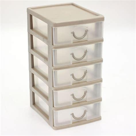 tour 5 tiroirs plastique bloc coffret tour boite de rangement 5 tiroirs plastique