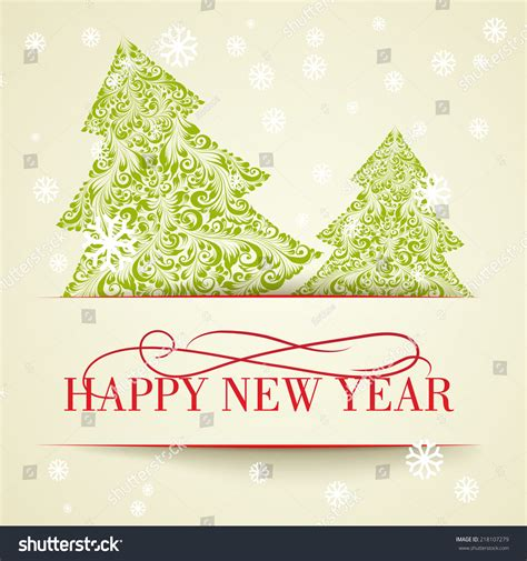 Happy New Year Card Template by Happy New Year Card Design Template Vector Ilustration