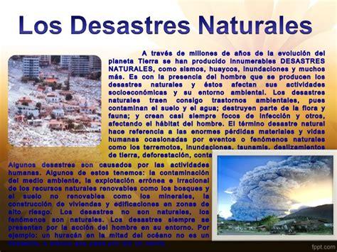 desastres naturales parte 2 desastres naturales de los ultimos tiempos