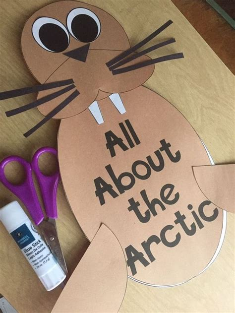 Crafts Arctic Animals And Paper On - arctic a study of arctic animals and their habitat