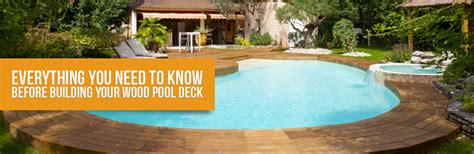 wood pool deck wood pool deck everything you need to know before