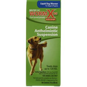 liquid dewormer for dogs sentry hc wormx ds liquid wormer for dogs 2 oz vetdepot