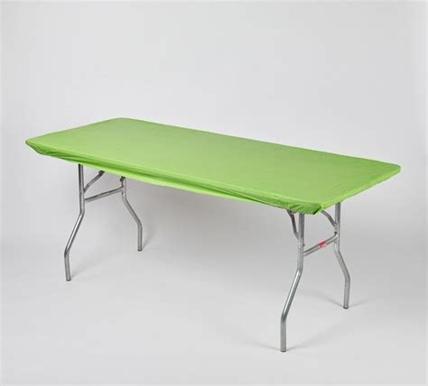 kwik covers banquet plastic table covers with elastic 6